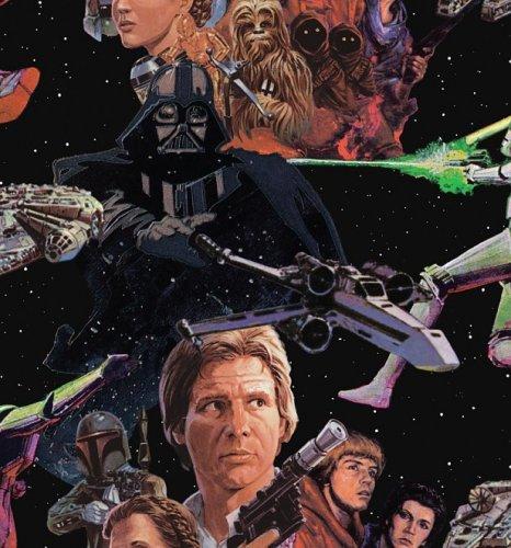 Star Wars or Spiderman Wallpaper £3.99 per roll ( plus £2.95 delivery ) @ TruffleShuffle