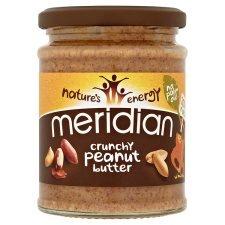 Meridian Peanut Butter - Crunchy & Smooth (280G) - £1 @ Tesco