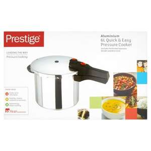 Prestige Quick & Easy Pressure Cooker 6L Reduced to £12.50 instore @ Morrisons
