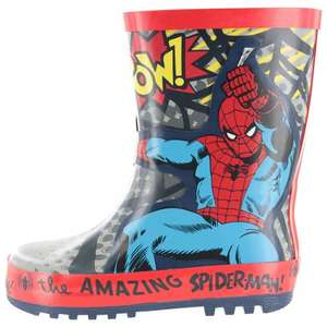 Kids Spiderman Wellington Boots From £17 to £4.50  @ John Lewis In store