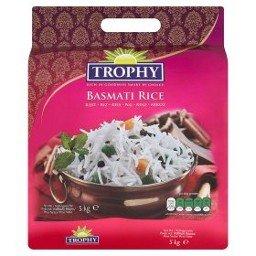 Trophy Basmati Rice 5 kg @ 50% off, for £4.50 in ASDA (instore & online)