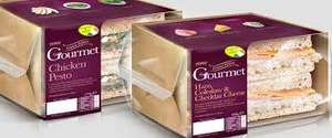 Gourmet sandwiches only 10p in store @ Tesco possibly store specific
