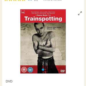 Trainspotting Special Edition DVD £3 at Tesco / Amazon