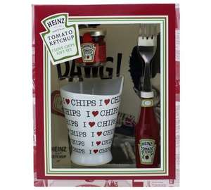 Argos - Heinz Ketchup I Love Chips and I Love Hot Dogs Gift Sets £1.00 each (price displays in basket)