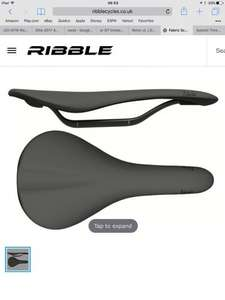 Fabric Scoop Flat Ultimate Saddle (162g carbon) only £149 @ RIbble cycles (regular £160 use code KIT10