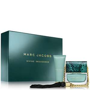 Marc jacobs divine decadence 50ml giftset for £37.50 half price & free delivery with code @ Debenhams