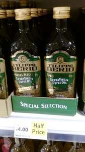 Filippo Berio Extra Virgin Olive Oil 750 ml £4.00 TESCO