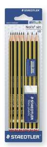 Staedtler 10HB Noris Pencils w/Eraser/Sharpener £1.50 @ Tesco instore