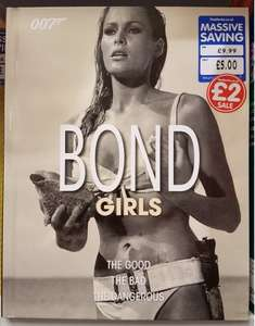 Bond Girls Hardcover Book £2 Instore @ The Works.