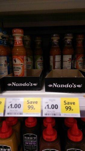 Nandos Sauces £1.00 @ Tesco (125g)