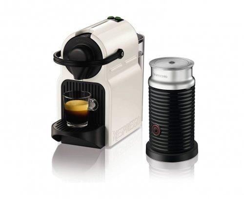 Krups Nespresso Inissia Coffee Capsule Machine with Aeroccino - White - £69.99 @ Amazon