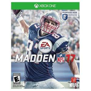 Madden NFL 17 on the XBOX Store 50% off now £27.50