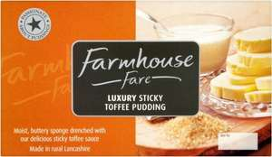 Farmhouse Fare Sticky Toffee Pudding 500g ONLY £2.00 @ Morrisons