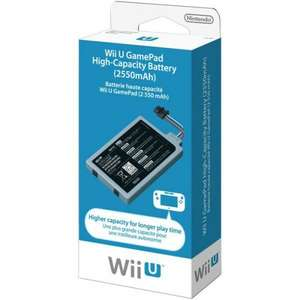 Nintendo Wii U Game Pad High Capacity Battery (Wii U) £16.57 @ Amazon Lightning Deals (early access) Prime Exclusive