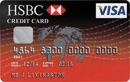 HSBC Credit card - £25 cashback offer