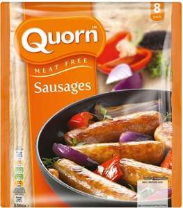 Quorn Meat Free Sausages (8 per pack - 336g) was £1.97 now £1.00 @ Morrisons
