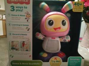 Fisher-Price Dance and Move BeatBelle/Bo £9.99 @ Tesco