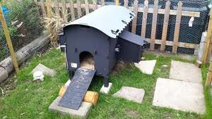 Solway recycled plastic chicken coops from £190 delivered @ solway recycling