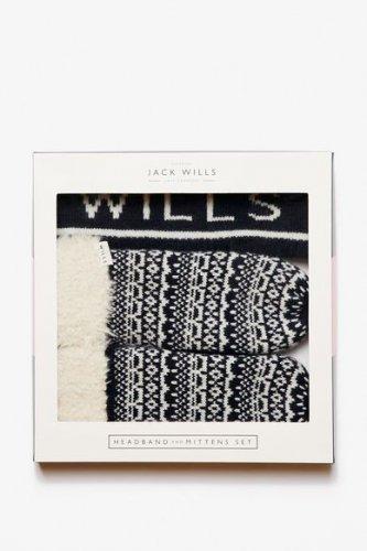 JACK WILLS Mockerkin Fairisle knit Gift Set £10.95 was £34.50  free c&c