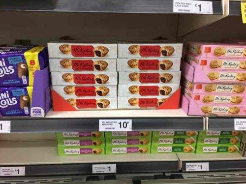 Mr Kipling Mince Pies 10p at Farmfoods!