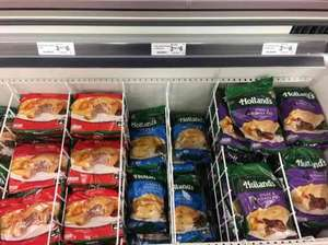 All varieties Hollands Pies 3 for £6 instore at Farmfoods!