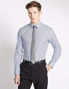 Various slim fit mens shirt and tie sets at M&S was £15, now £5.49