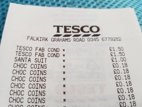 Santa Suit £1 instore @ Tesco (Falkirk Retail Park)