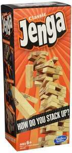Hasbro Classic Jenga £6.64 Amazon Prime Exclusive