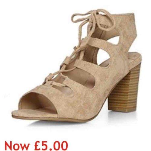 DP sandals £5 @ house of Fraser