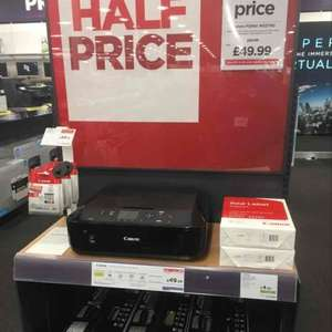 canon PIXMA MG5750 half price printer - £49.99 @ Currys