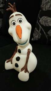 olaf money box - £4 instore @ ASDA