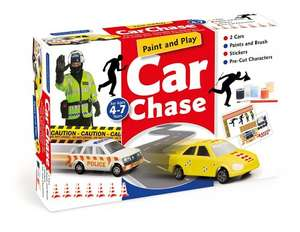 Craft Box Paint and Play Car Chase 99p @ Amazon (Add on item)
