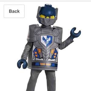 Lego nexo knights costume £12 (Prime) / £15.99 (non Prime) at Amazon