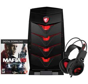 MSI Aegis i7 GTX1070 1TB 256GB SSD Gaming Desktop Bundle @ Argos - £1399.99