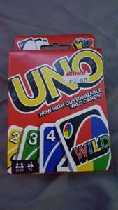 UNO playing cards was  £3 now 75p at wilkos instore