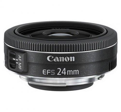 Canon EF-S 24mm f/2.8 STM Lens - £124.99 @ Argos