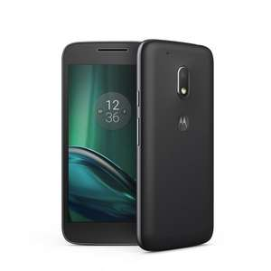 "Moto G4 Play 5"" HD (Black/White) - £79.01 delivered with codes stack @ Motorola"