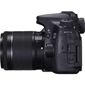 Canon EOS 70D + 18-55mm IS STM Lens £699 @ Canon