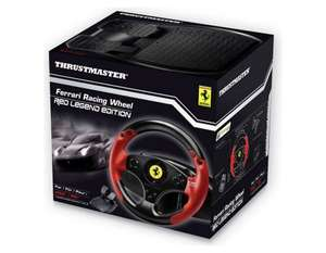 Ferrari Legend Edition Racing Wheel for PC and PS3 - Red £25.99 @ Argos