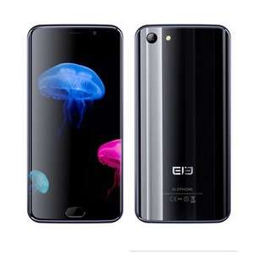 Elephone S7 5.5 inch Fingerprint 4GB RAM 64GB ROM Helio X20 Deca Core 4G Smartphone - BangGood - £173.25