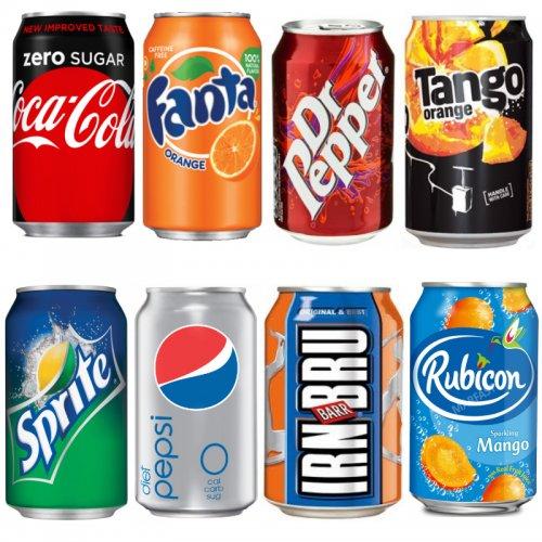 4 Pack £1 at Poundworld - Coke Zero, Fanta, DR Pepper, Irn Bru, Irn Bru Light, Spirite, Diet Pepsi, Tango Orange