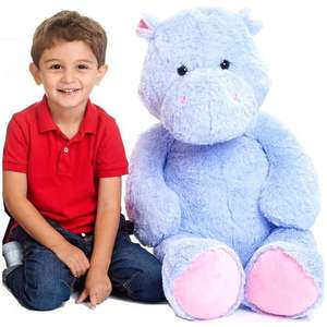"Half price on massive Animal Alley soft toys eg 39"" hippo was £29.99 now £14.99, 96"" jumbo caterpillar was £49.99 now £24.99 more in thread @ Toys R Us"