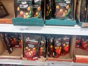 Large sharing bags of walker's sensations 150g bags, doritos , and sensations coated peanuts for 23p in Wilkos Warrington