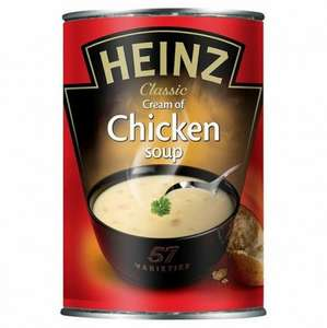 heinz chicken soup individual cans just 25p!! @ Poundstretcher