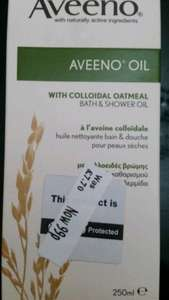Aveeno Oil 99p @ Morrisons