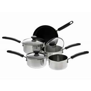 Prestige stainless steel 5 piece pan set - £15 instore (WAS £80) @ Morrisons (REDUCED TO CLEAR IN STORE ONLY)