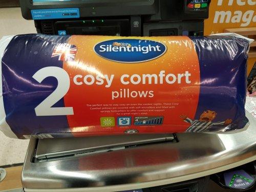 Silentnight 2 pack pillows for £5 instore @ Tesco (Newcastle)