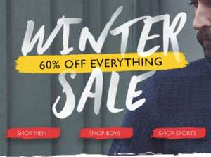 Lyle and Scott 60% off all sale items