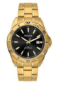 Accurist Men's Quartz Watch with Analogue Display and Stainless Steel Bracele - £20.56 Delivered via Amazon