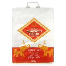 Tesco Wholemeal Chapatti Flour 10Kg for £3